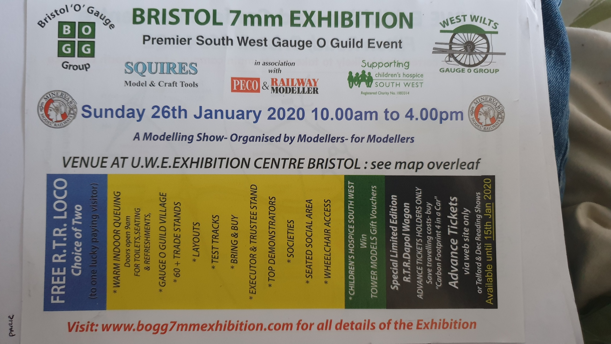 bristol mm exhibition